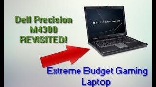 Gaming on a $1200 laptop from 2007!