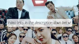 PSY - I Luv It & New Face MV's [Eng|Rom|Han] HD