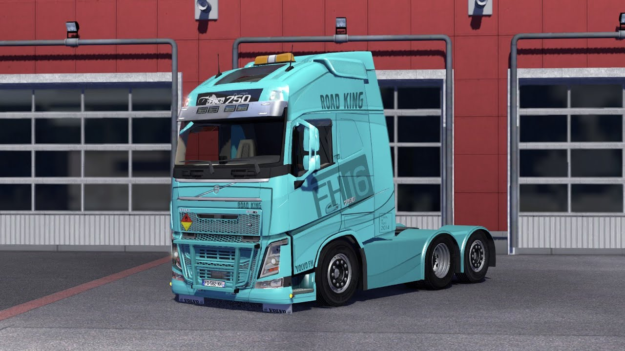ets2 volvo fh 2013 tuning by ohaha euro truck. Black Bedroom Furniture Sets. Home Design Ideas