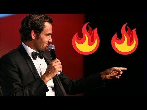 Roger Federer Singing - The Hottest Mixtape of 2017