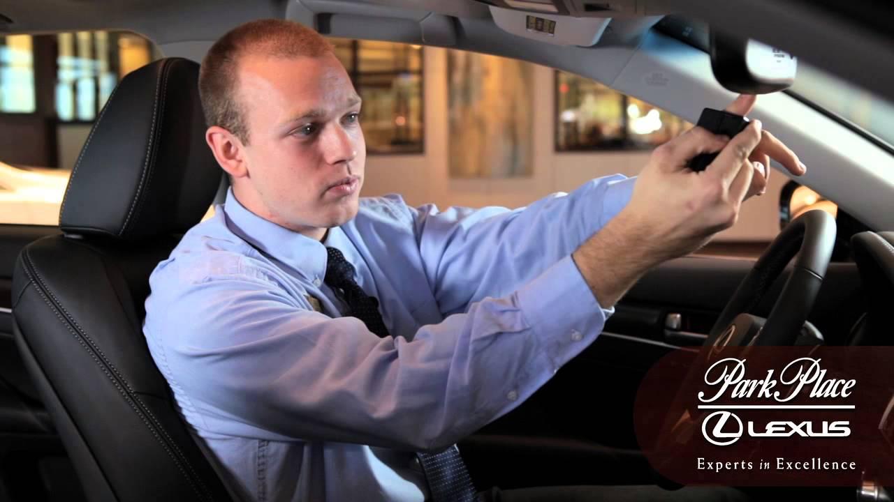 Lexus How To SetUp Lexus Homelink With Your Garage Door Opener  YouTube