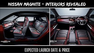 Nissan Magnite interiors revealed - FIRST LOOK | Expected Price & Launch Date | MAGNITE INTERIORS