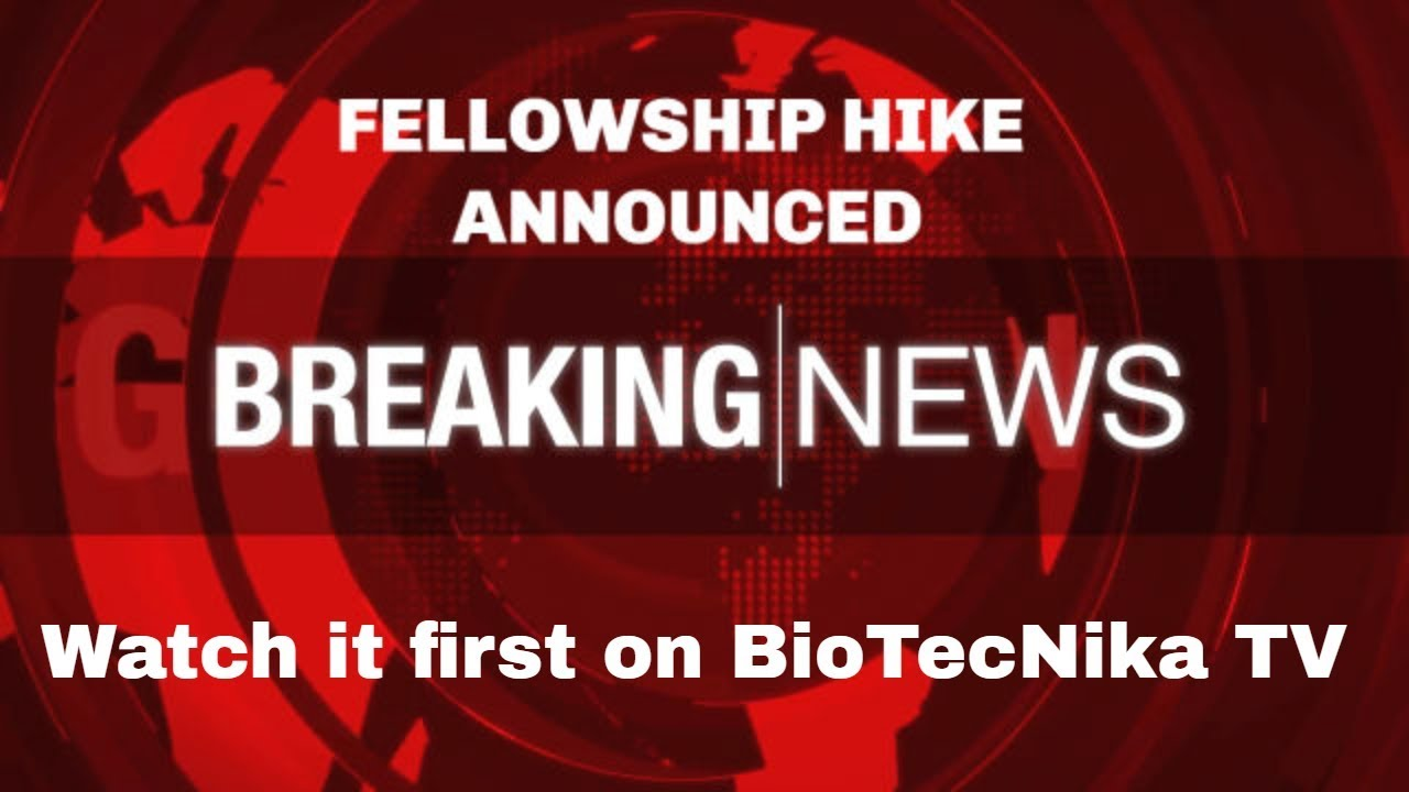 Research Fellowship Hiked By 24% DST Gives New Year Bonanza