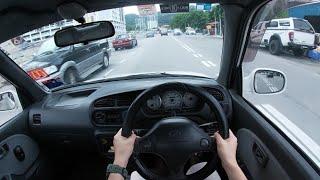 2001 Perodua Kelisa 1.0 EZ   Day Time POV Test Drive
