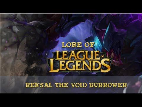 Lore of League of Legends [Part 88] Rek