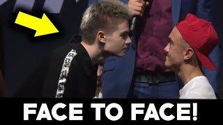 LORD KRUSZWIL VS MINI MAJK FACE TO FACE NA KONFERENCJI! (SHOTY)