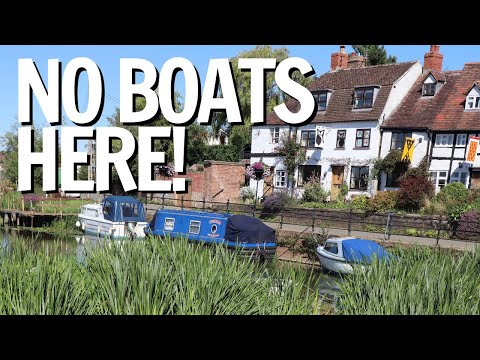 Narrowboats On RIVER AVON - Is Stratford Upon Avon The PERFECT BOATING DESTINATION? Vlog No.11