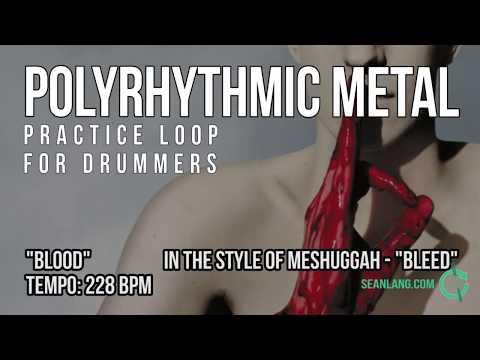 Polyrhythmic Metal - Drumless Track For Drummers -