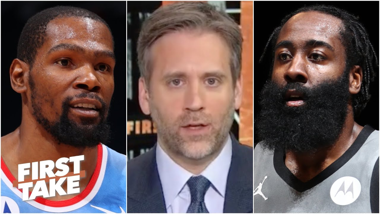 Kevin Durant or James Harden: Which Nets star is under the most pressure?   First Take