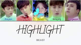 Beast (비스트) - Highlight (하이라이트) (Color Coded Lyrics Han/Rom/…