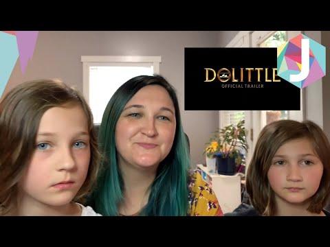Dolittle Official Trailer Reaction