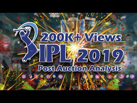 IPL 2019 Auction Tamil | Updated Squad List of all teams | CSK MI RCB RR DC KXIP KKR SRH | Fun Zip