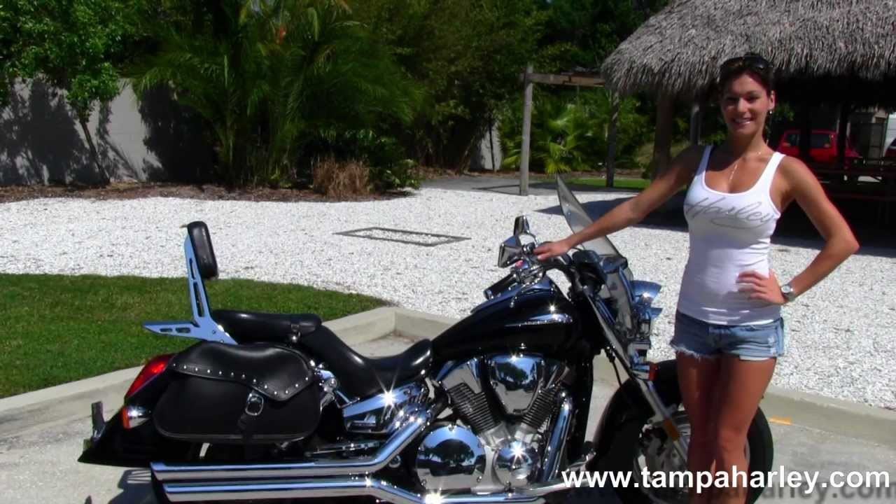 Used Honda Motorcycles for sale 2005 Honda VTX1300R Retro - YouTube