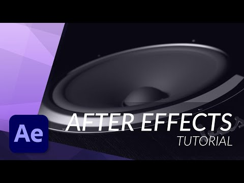 HOW TO WORK WITH AUDIO IN AFTER EFFECTS