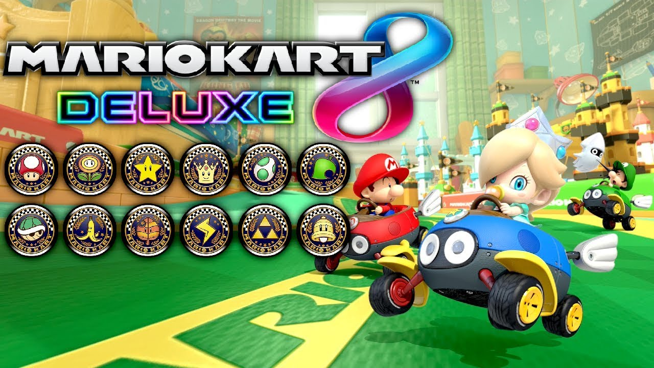 Mario Kart 8 Deluxe 200cc Grand Prix All Cups 2 Player