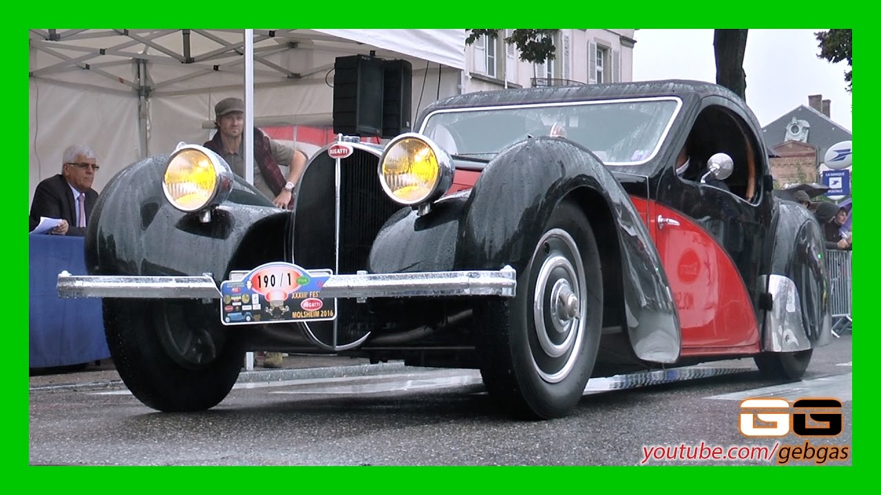 bugatti type 57s atalante usine 1936 2016 molsheim youtube. Black Bedroom Furniture Sets. Home Design Ideas