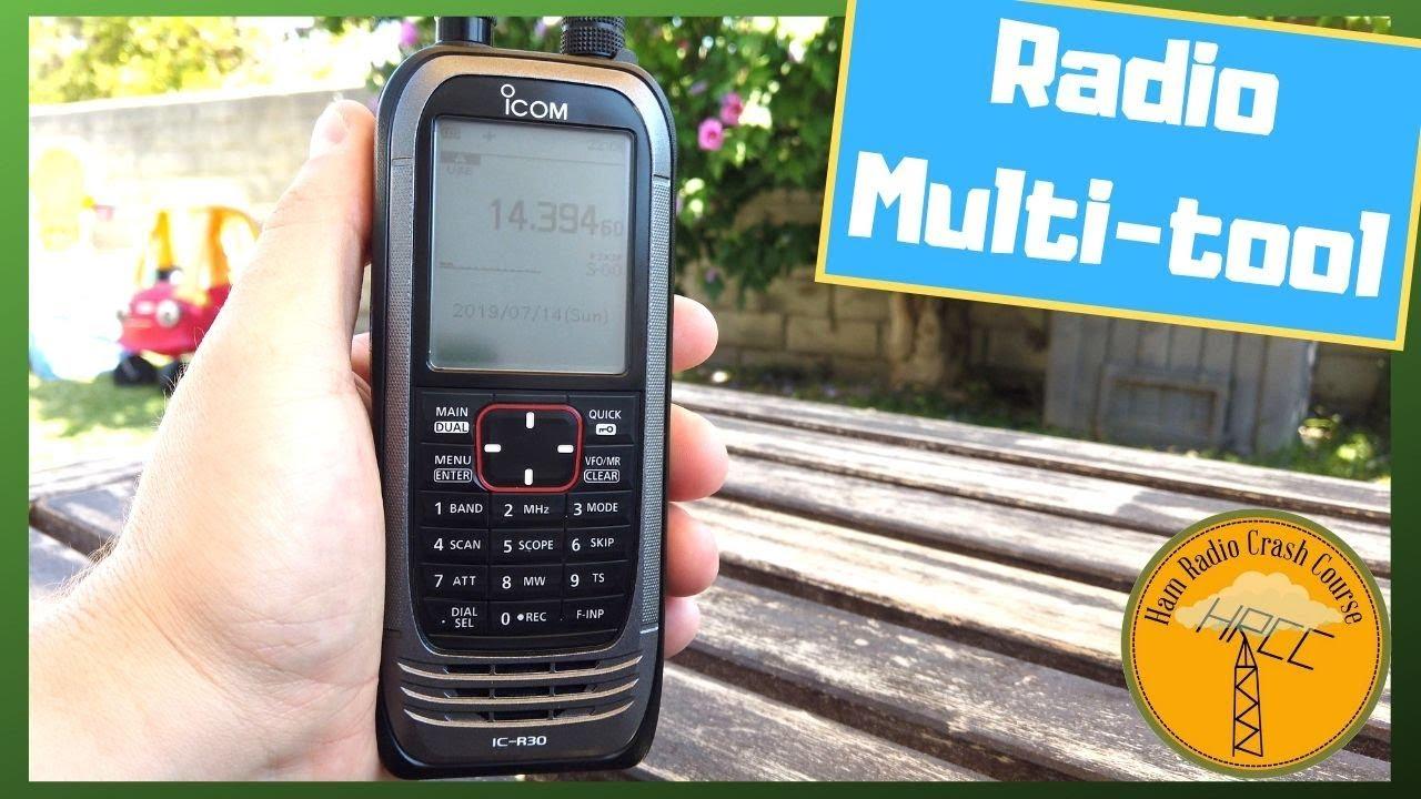 ICOM IC-R30 Portable Receiver Review