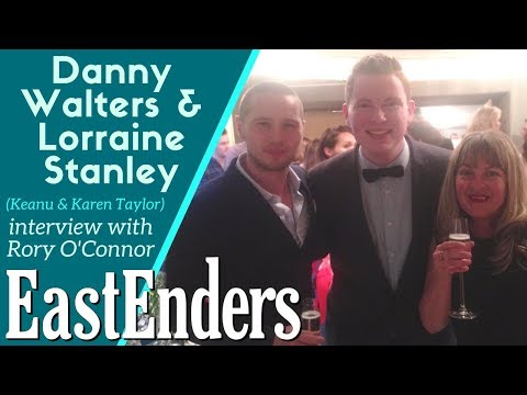 EastEnders: Danny Walters & Lorraine Stanley interview about Keanu & Karen Taylor with Rory O'Connor