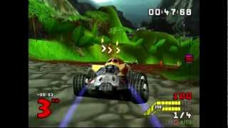 S.C.A.R.S - Gameplay PSX (PS One) HD 720P (Playstation classics)