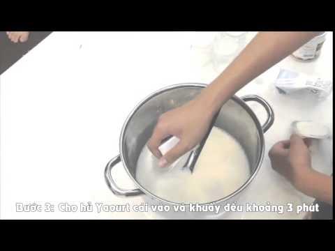 Hướng dẫn cách làm sữa chua đơn giản ngon và hấp dẫn
