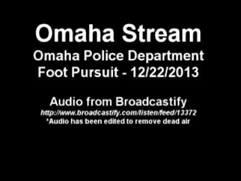 12/22/2013 - Omaha Police - Foot Pursuit