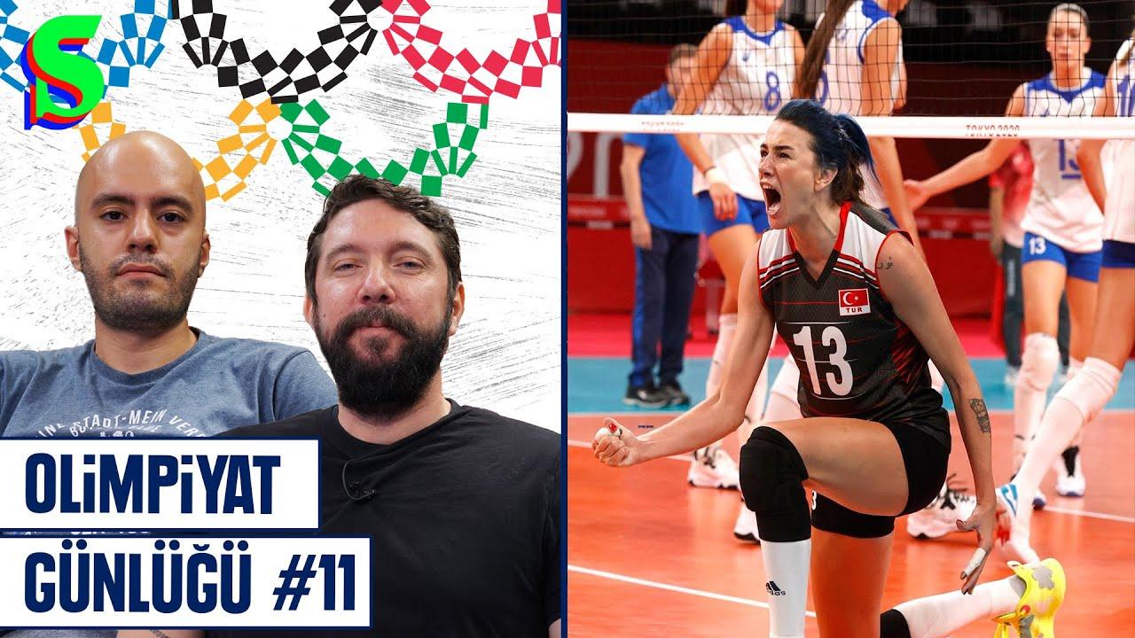 🇹🇷 Voleybolda Çeyrek Final, Yasemin Adar, Mijaín López, Biles, Atletizm | Olimpiyat Günlüğü #11