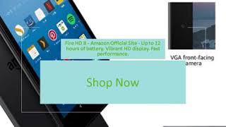 """Fire HD 8 Tablet, 8"""" HD Display, 16 GB, Black"""