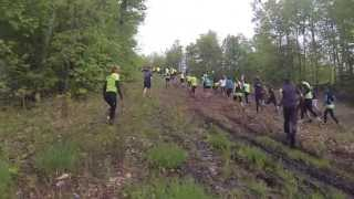 Spartan race Morin heights 25 may 2013 : team COMEandTRAIN