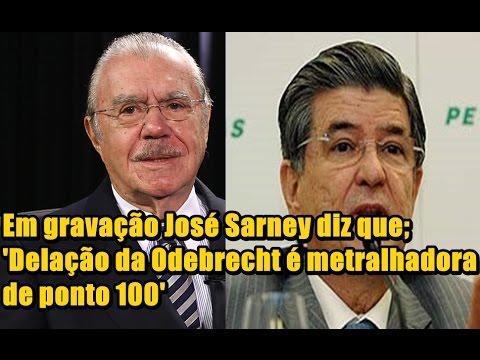 Em gravação José Sarney diz que;