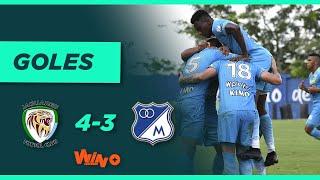 Jaguares vs Millonarios (4-3) Liga BetPlay Dimayor 2021-II   Fecha 11