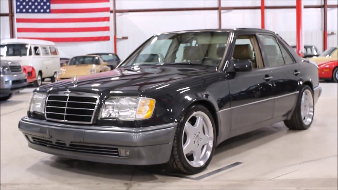 1994 mercedes e500 youtube. Black Bedroom Furniture Sets. Home Design Ideas