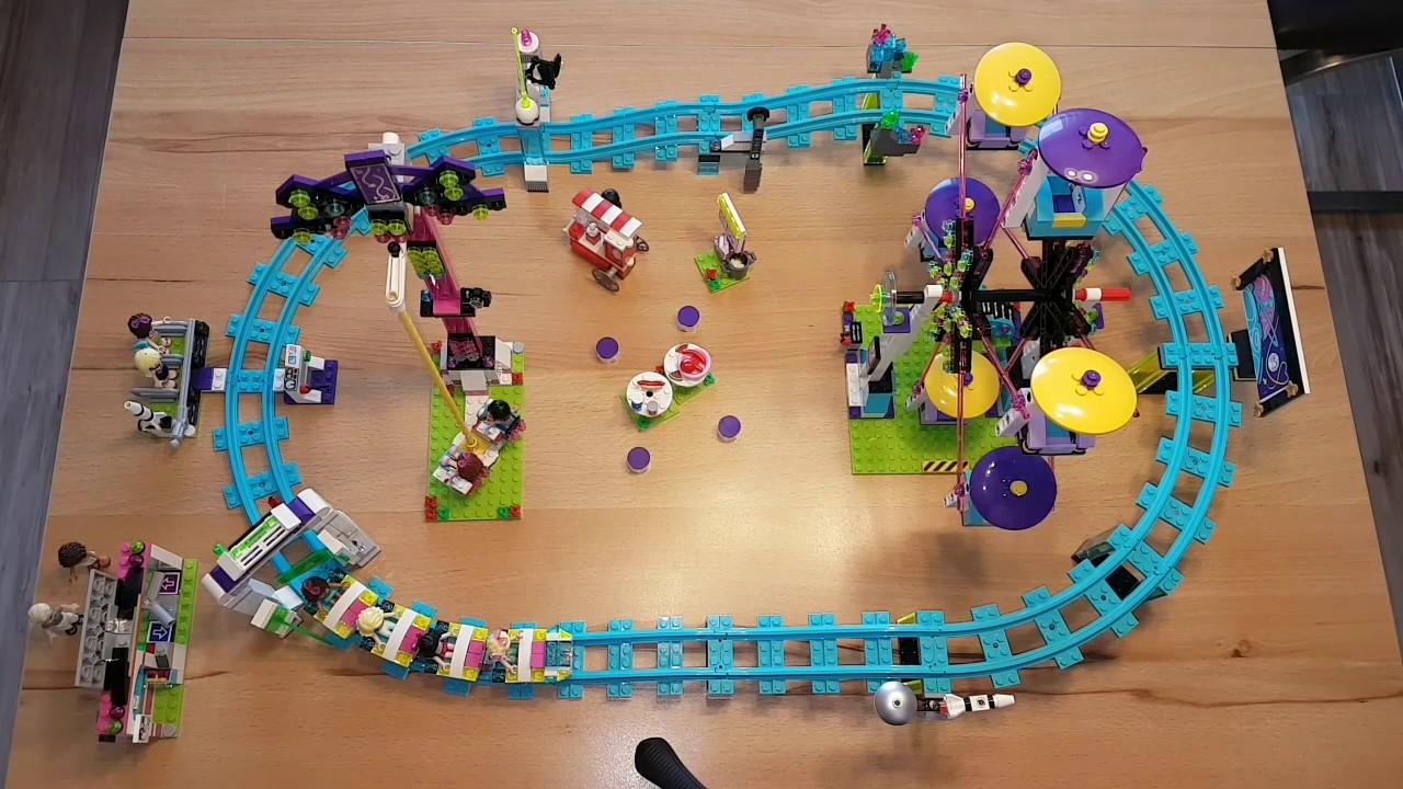 Lego Friends 41130 Großer Freizeitpark Deutsch Review Youtube