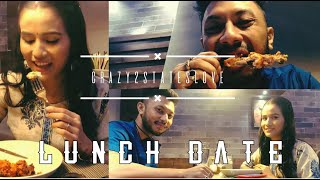 LUNCH DATE   || Harry's Bistro || 1st ever date after marriage || #lunchdate #romanticcouple #love