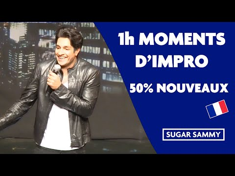 Sugar Sammy: 1h de moments d'impro incluant des inédits