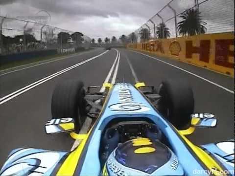 2006 Australian GP - Giancarlo Fisichella Onboard