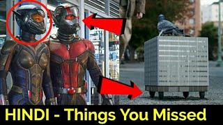 Ant Man And The Wasp Trailer Breakdown In HINDI |Things You Missed | Ant Man & Wasp Trailer In HINDI
