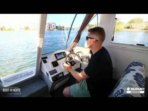 Boat A Home  | Escape II - With Simon from Suzuki Marine