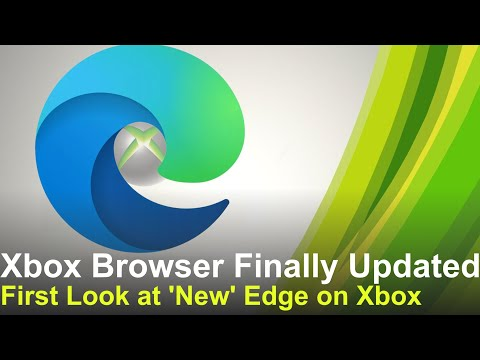 Xbox Gets a new Browser, First Look