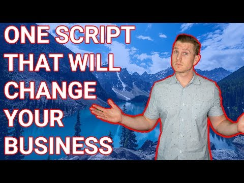 THE #1 SCRIPT THAT SCALED MY REAL ESTATE INVESTING BUSINESS