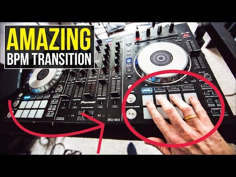 Creative BPM DJ Transition - How to mix different BPM