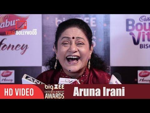 Aruna Irani at Big Zee Entertainment Awards 2017 | #BigZeeAwards