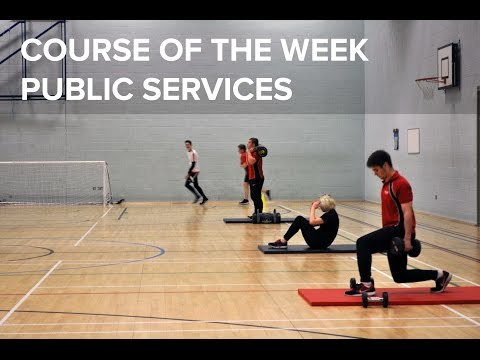 Course of the Week | Public Services