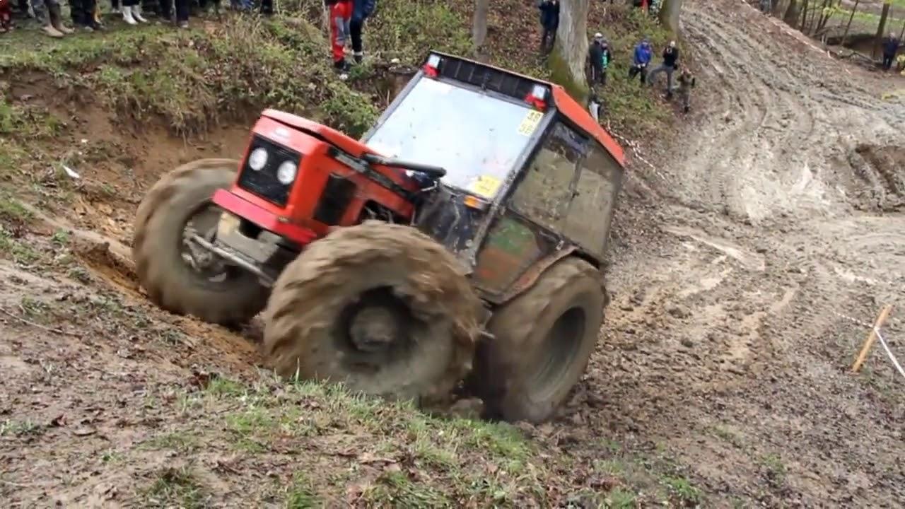 Бездорожье на тракторах