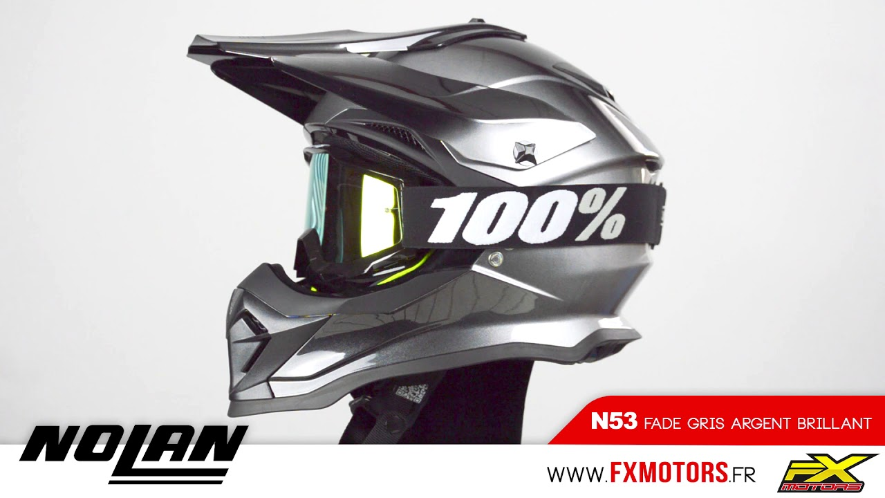 Nolan N53 Fade MX Helm