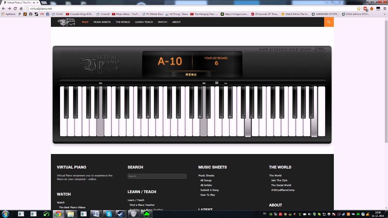Pre Elišku (virtual piano)