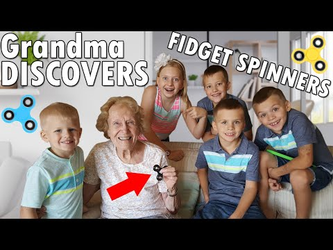 Great Grandma Reacts to Fidget Spinner Surprise
