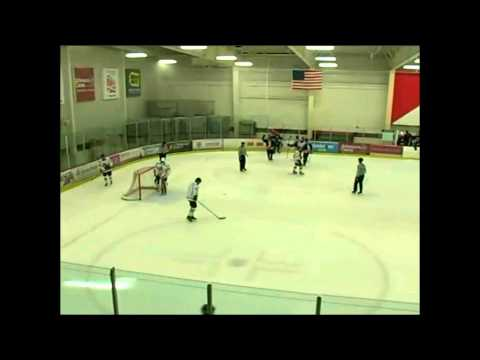 Hallford, Smith and LeSage Combine for Goal at NAHL Showcase Ice Miners vs Topeka