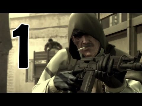 Metal Gear Solid 4 - The Movie -1- War Has Changed...