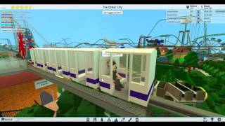 ROBLOX BIGGEST THEME PARK METRO EVER! - PART 3 - New line