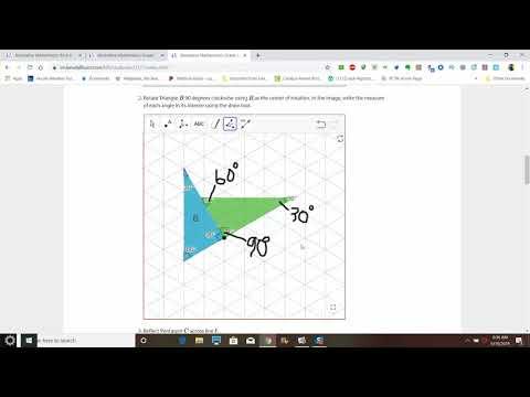 Illustrative Mathematics Grade 8 Unit 1 Lesson 7 - Transformation Properties (and practice problems) thumbnail